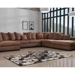 U Sofa Milari Linen Set Elegant Med God Komfort Og Masser Af Plads Hamilton