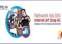 Zong 4G Internet Packages
