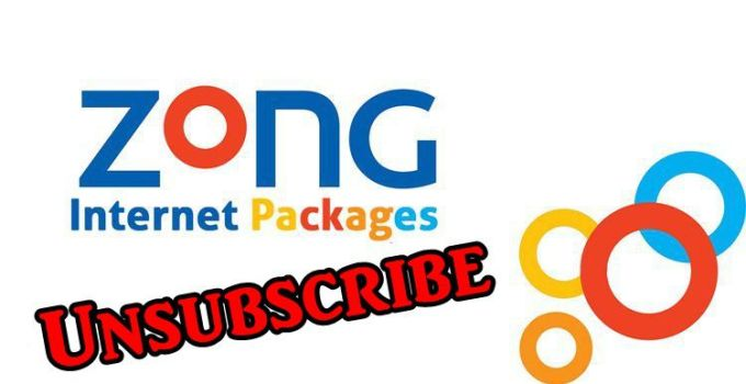 How to Unsubscribe Zong Internet Packages