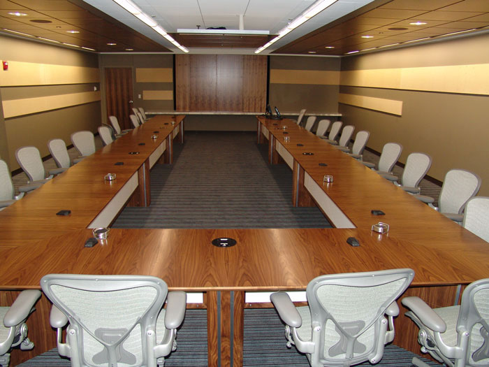 Executive U-Shaped Boardroom Table