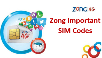 Zong Important Sim Codes