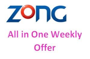 Zong All in One Weekly Offer