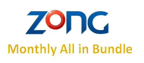 Zong Monthly All in One Package