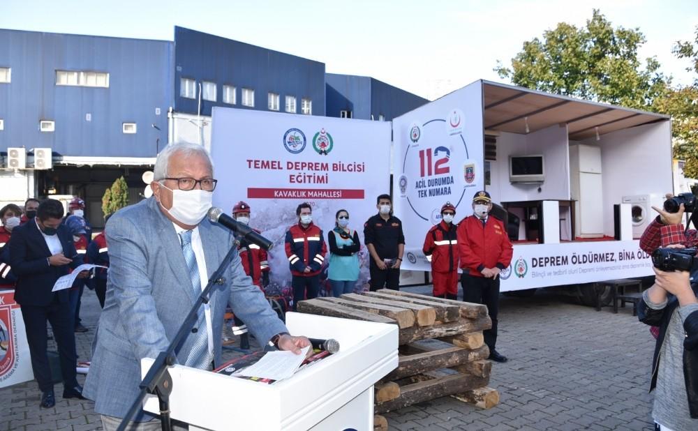 Kdz. Ereğli'de uygulamalı deprem tatbikatı