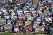Aerial View of Suburban Sprawl