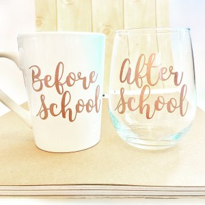 Before and After School Treats coffee wine