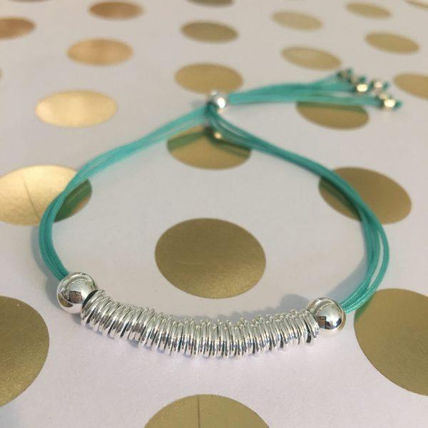 40 wishes bracelet turquoise
