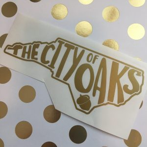 city of oaks NC gold