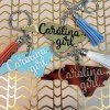 carolina girl keychains by zoo&roo