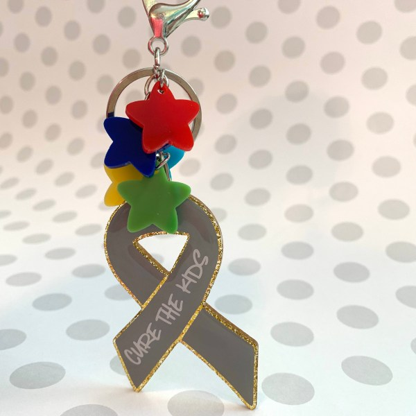 cure the kids keychain PBTF