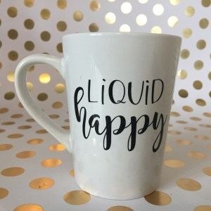 liquid happy mug