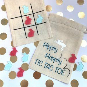 Hippity Hoppity Tic Tac Toe