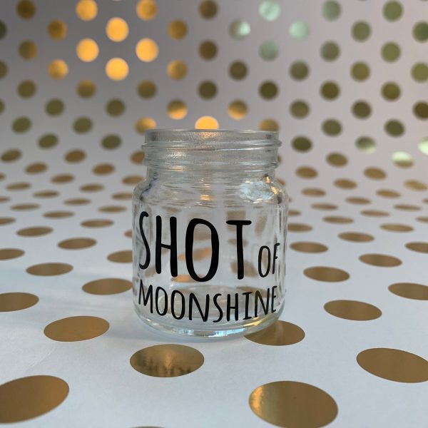 shot of moonshine bless your heart southern sayings mini mason jar shot glass by zoo&roo