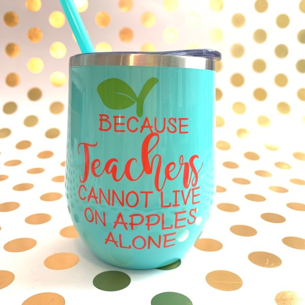 because teachers cannot live on apples alone salmon