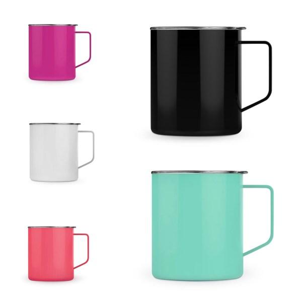 Stainless steel mug colors