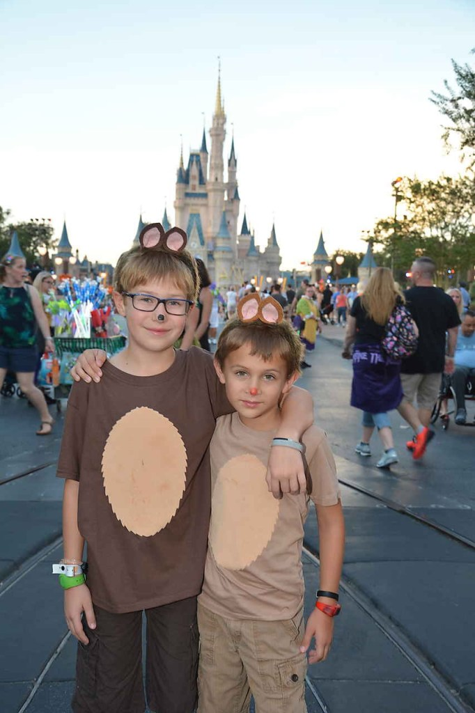 Chip and Dale costumes