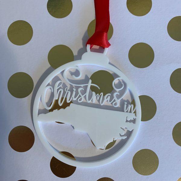 Christmas in North Carolina ornament