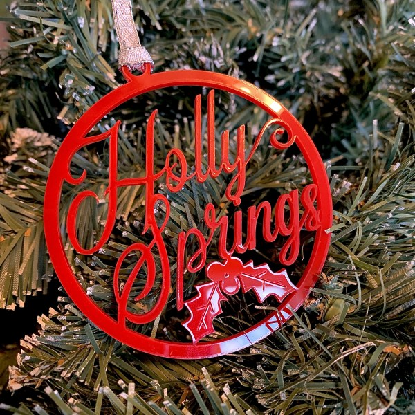 Holly Springs ornament