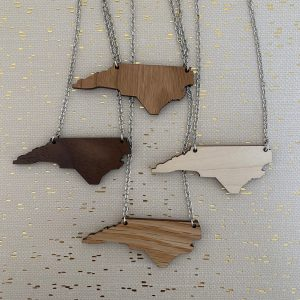 NC wood necklaces