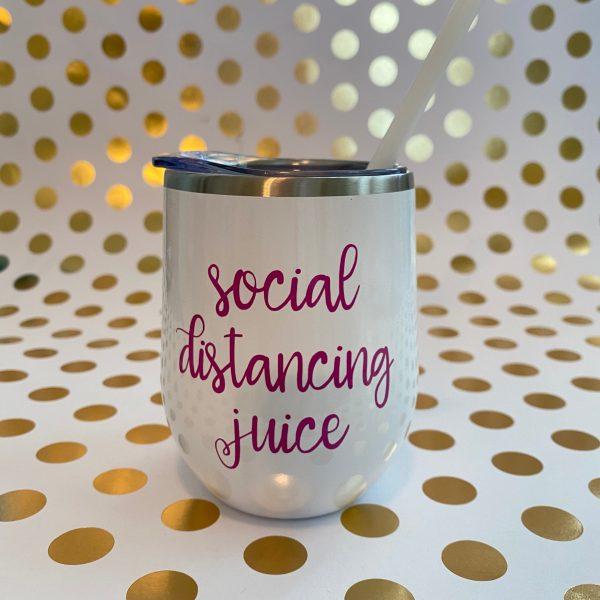 wine tumbler social distancing juice