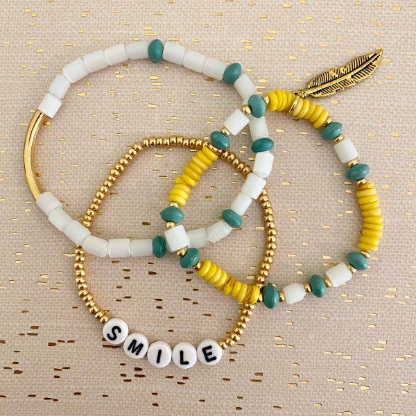 Ray of Sunshine bracelets