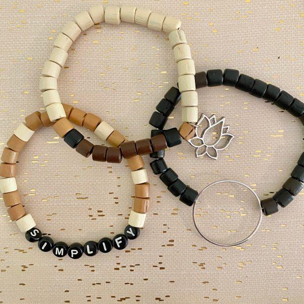 simplify DIY bracelets