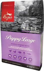 ORIJEN PUPPY LARGE BREED (ОРИДЖЕН ПАППИ ЛАДЖ БРИД) — сухой корм для щенков крупных пород