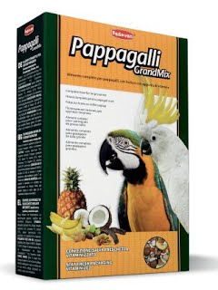 GRANDMIX PAPPAGALLI Комплексный корм для крупных попугаев