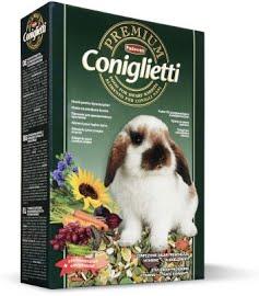 PREMIUM CONIGLIETTI Комплексный основной корм для декоративных кроликов