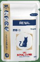 Royal Canin Renal Feline 85 гр с курицей почечная недостаточность
