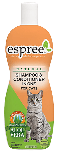 Shampoo and Conditioner in One for Cats
