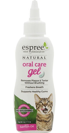 Oral Care Gel — Salmon Flavor for cats