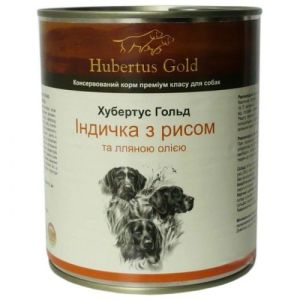 Hubertus Gold Индейка с рисом