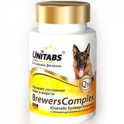 Unitabs BREWERS COMPLEX — добавка для здоровья кожи и шерсти собак