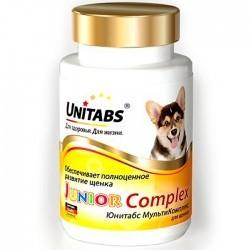 Unitabs JUNIOR COMPLEX — витаминно-минеральная добавка для щенков, беременных и кормящих собак