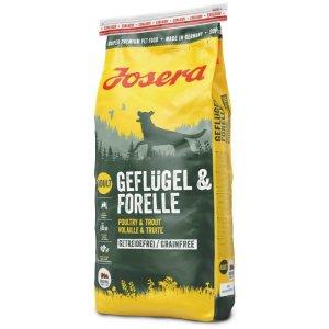 Josera Geflugel and Forelle — беззерновой корм с птицей и форелью для собак