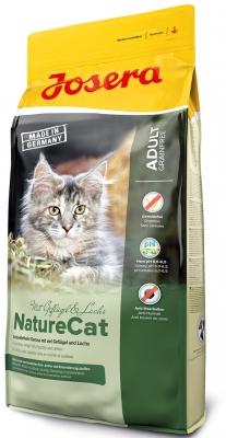 Josera NatureCat беззерновой корм для кошек с чувствительным пищеварением и котят от 6 месяцев