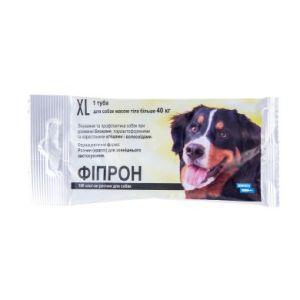 Фипрон спот-он XL (100), капли для собак весом 40-60 кг