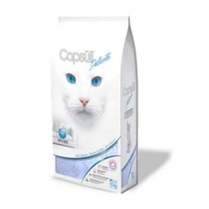 Capsull Delicate (baby powder) КАПСУЛ ДЕЛИКАТ кварцевый впитывающий наполнитель для туалетов кошек