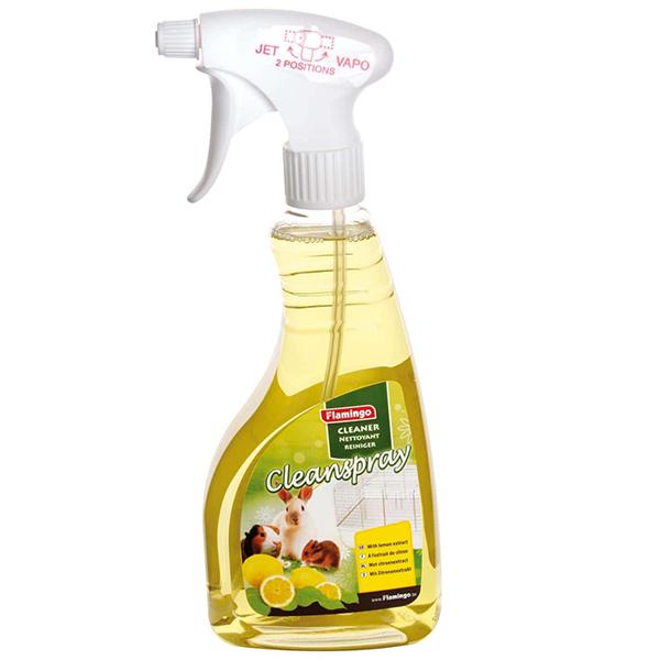 Karlie-Flamingo Clean Spray Lemon КАРЛИ-ФЛАМИНГО КЛИН СПРЕЙ для очистки клеток грызунов с запахом лимона