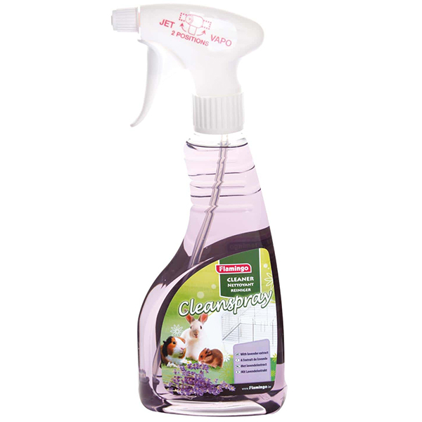 Karlie-Flamingo Clean Spray Lavender КАРЛИ-ФЛАМИНГО КЛИН СПРЕЙ ЛАВАНДА для очистки клеток грызунов с запахом лаванды