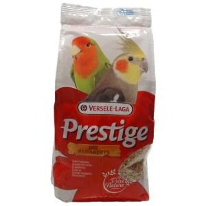Versele-Laga Prestige Big Parakeets Cockatiels ВЕРСЕЛЕ-ЛАГА ПРЕСТИЖ СРЕДНИЙ ПОПУГАЙ зерновая смесь корм для средних попугаев