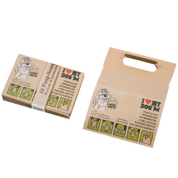 Karlie-Flamingo Dog Bags Poop-Scoops КАРЛИ-ФЛАМИНГО пакет бумажный для сбора фекалий собак