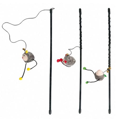 Karlie-Flamingo (КАРЛИ-ФЛАМИНГО) ROD WITH MOUSE игрушка для кошек