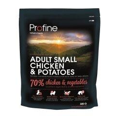 Сухой корм для взрослых собак мелких пород (весом до 10 кг) Profine Adult Small 300 г (курица)