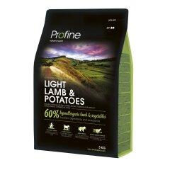 Сухой корм для собак с лишним весом Profine Light Lamb 3 кг (ягненок)