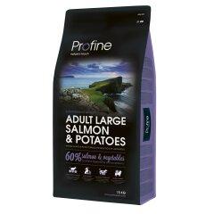 Сухой корм для взрослых собак крупных пород (весом от 25 кг) Profine Adult Large Breed Salmon 15 кг (лосось)