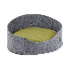 Лежак Pet Fashion «Бали» 22 см / 37 см / 48 см (серый)