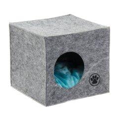 Домик Pet Fashion «Грей» 39 см / 39 см / 36 см (серый)