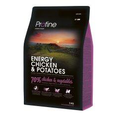 Сухой корм для активных собак всех пород Profine Energy Chicken 3 кг (курица)